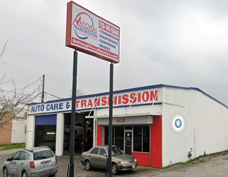 Picture of the Houston shop of National Transmission